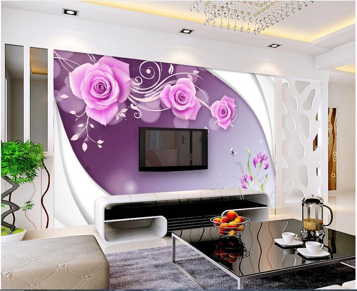 красивые фотообои в зал фото цветы