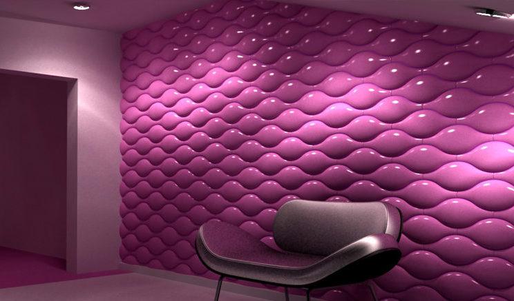 Космические элементы появятся в комнате благодаря воздушному эффекту панелей