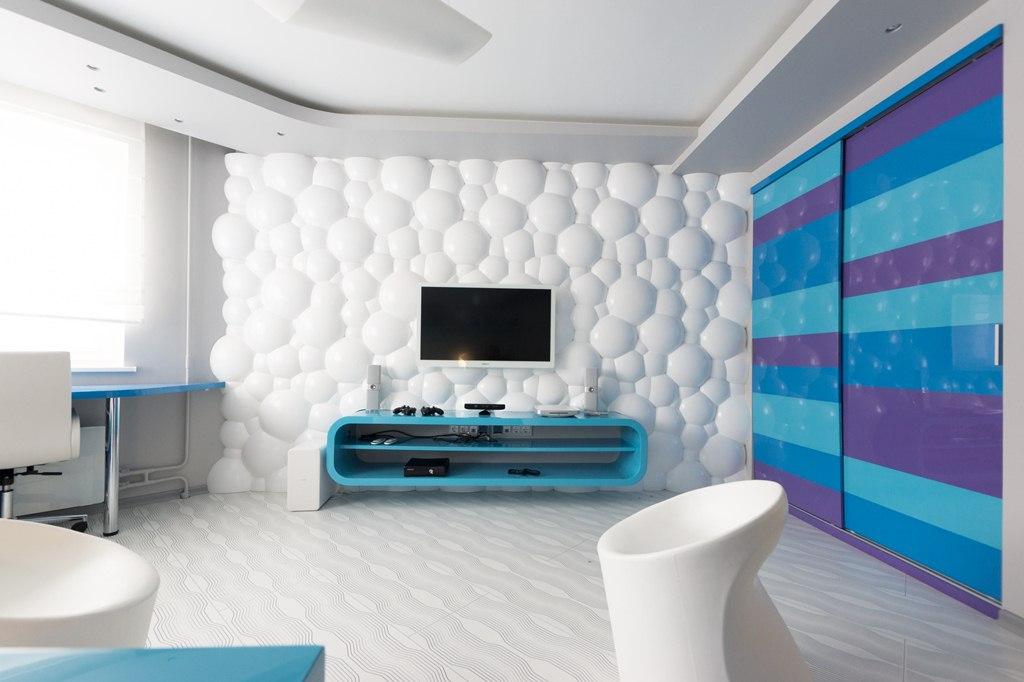 Декоративные панели с объемным эффектом из пластика