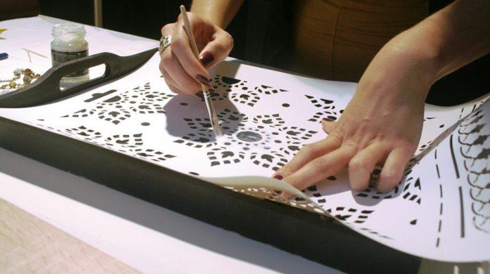Изготовление шаблона своими руками