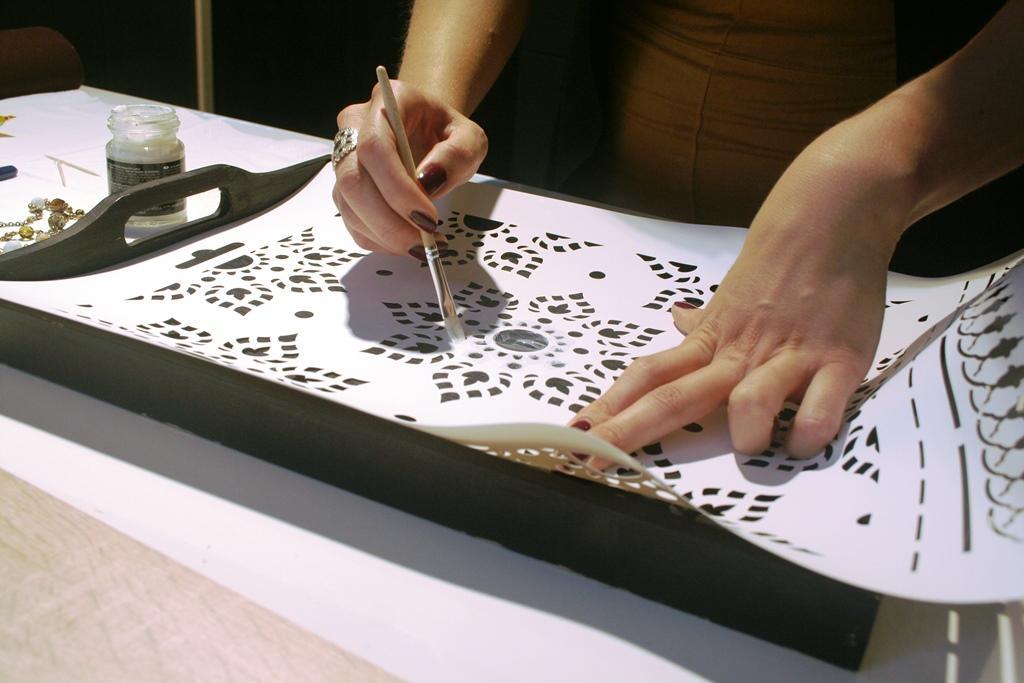 Как создать трафарет своими руками 30