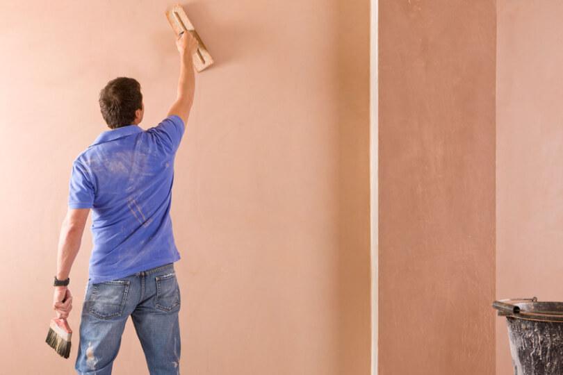 Покрытия стен разными способами