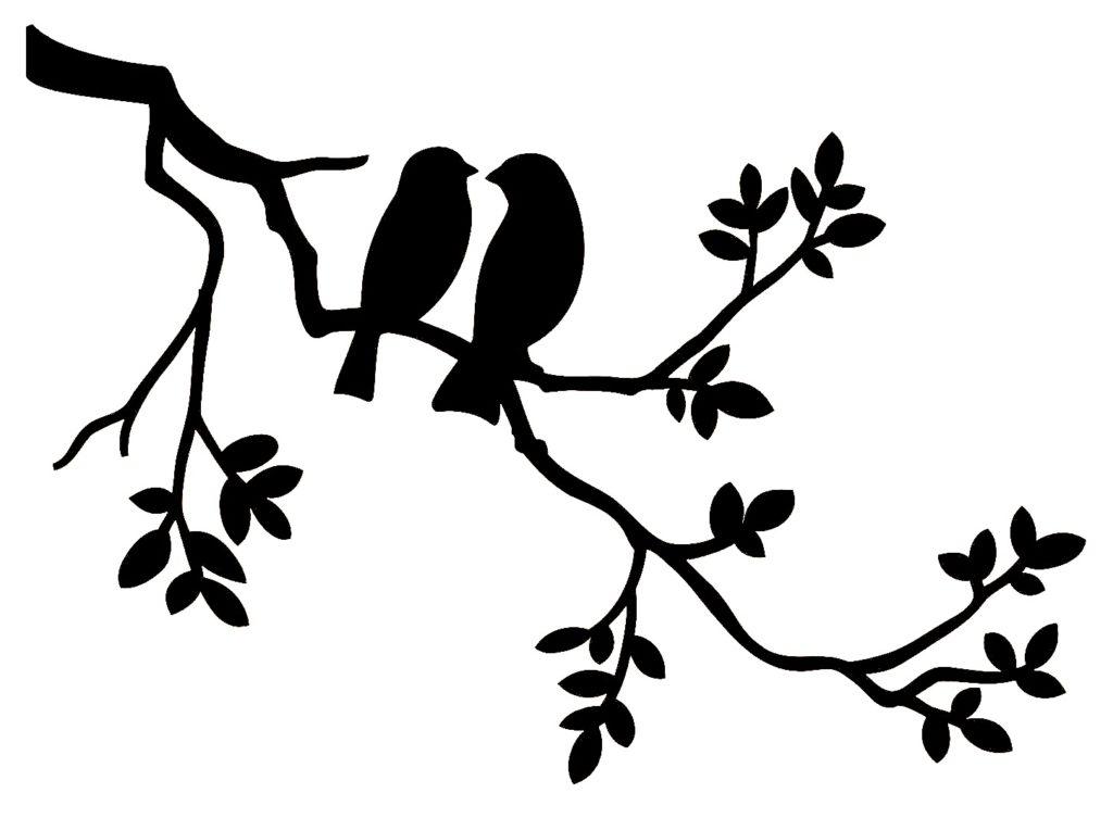 Птички на стене