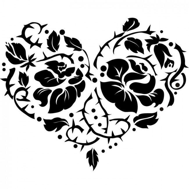 Сердце с шипами