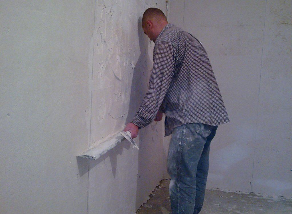 Устраняем недочеты стены