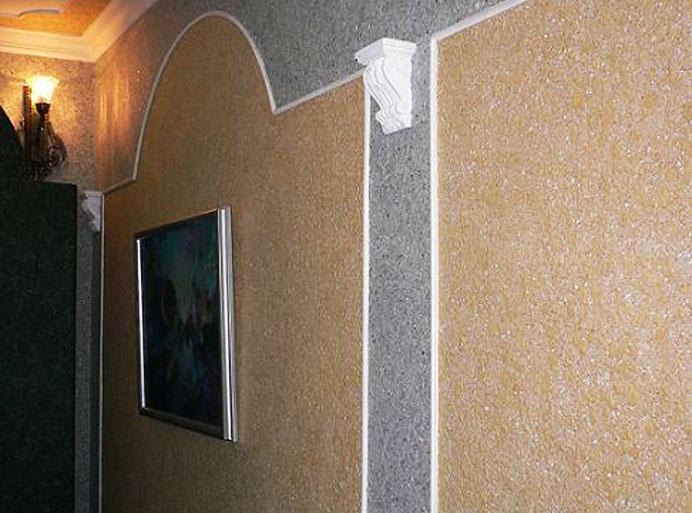 Образец шелкового покрытия