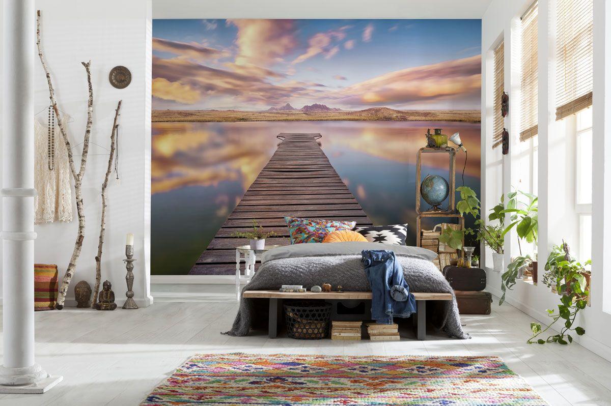 3D изображение в спальной комнате