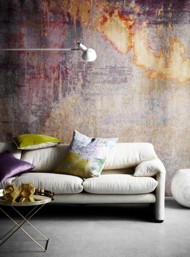 Дизайнерское оформление внутренних стен