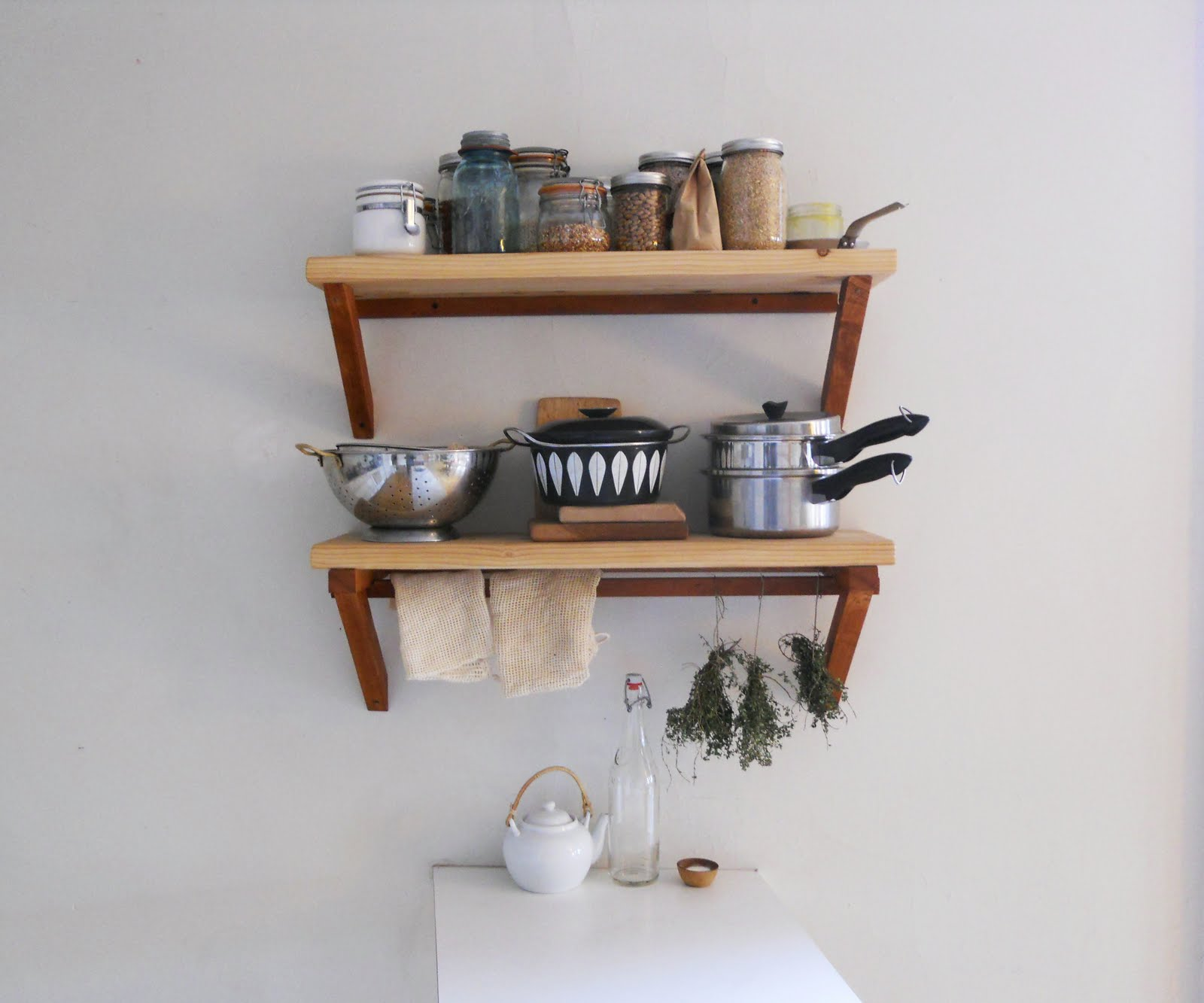 Полочка на кухню своим руками