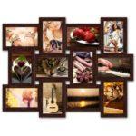 Какие бывают рамки и коллажи для фотографий на стену, правила расположения
