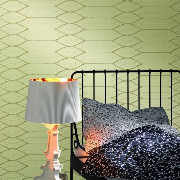 Геометрия в интерьере комнаты