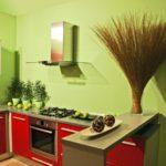 Покраска стен на кухне, чем лучше сделать