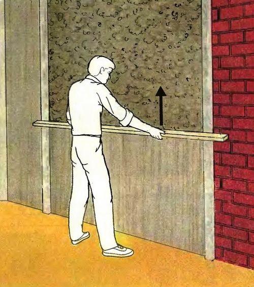 Направление выравнивания стен