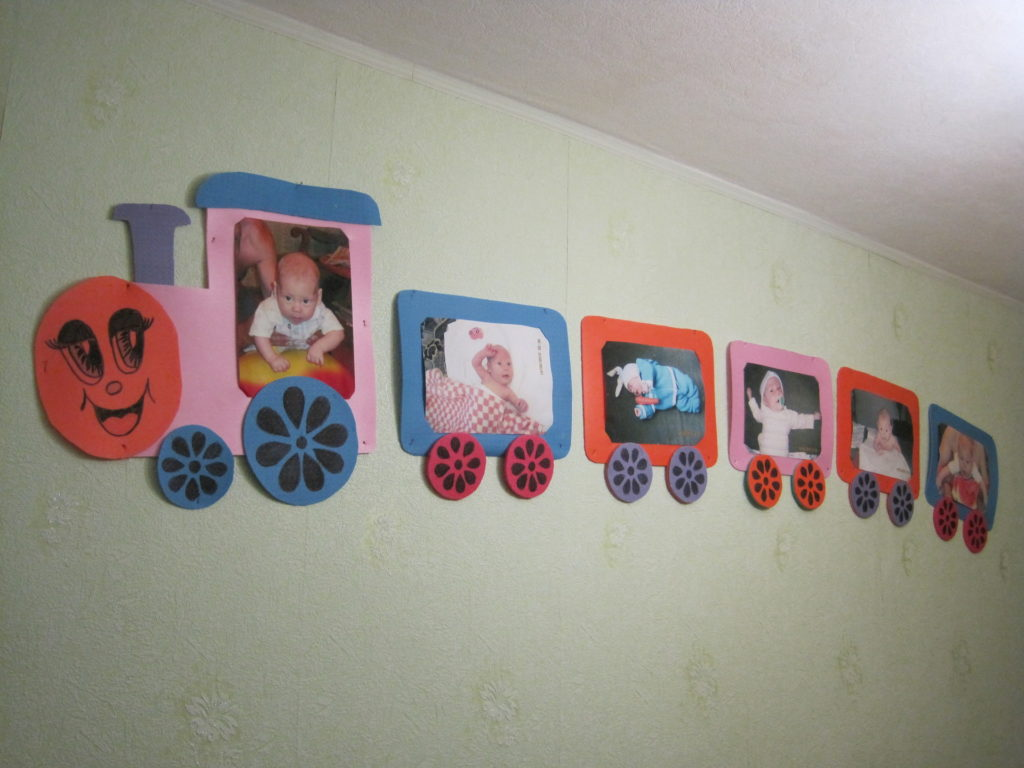 Рамки своими руками для фото детские для