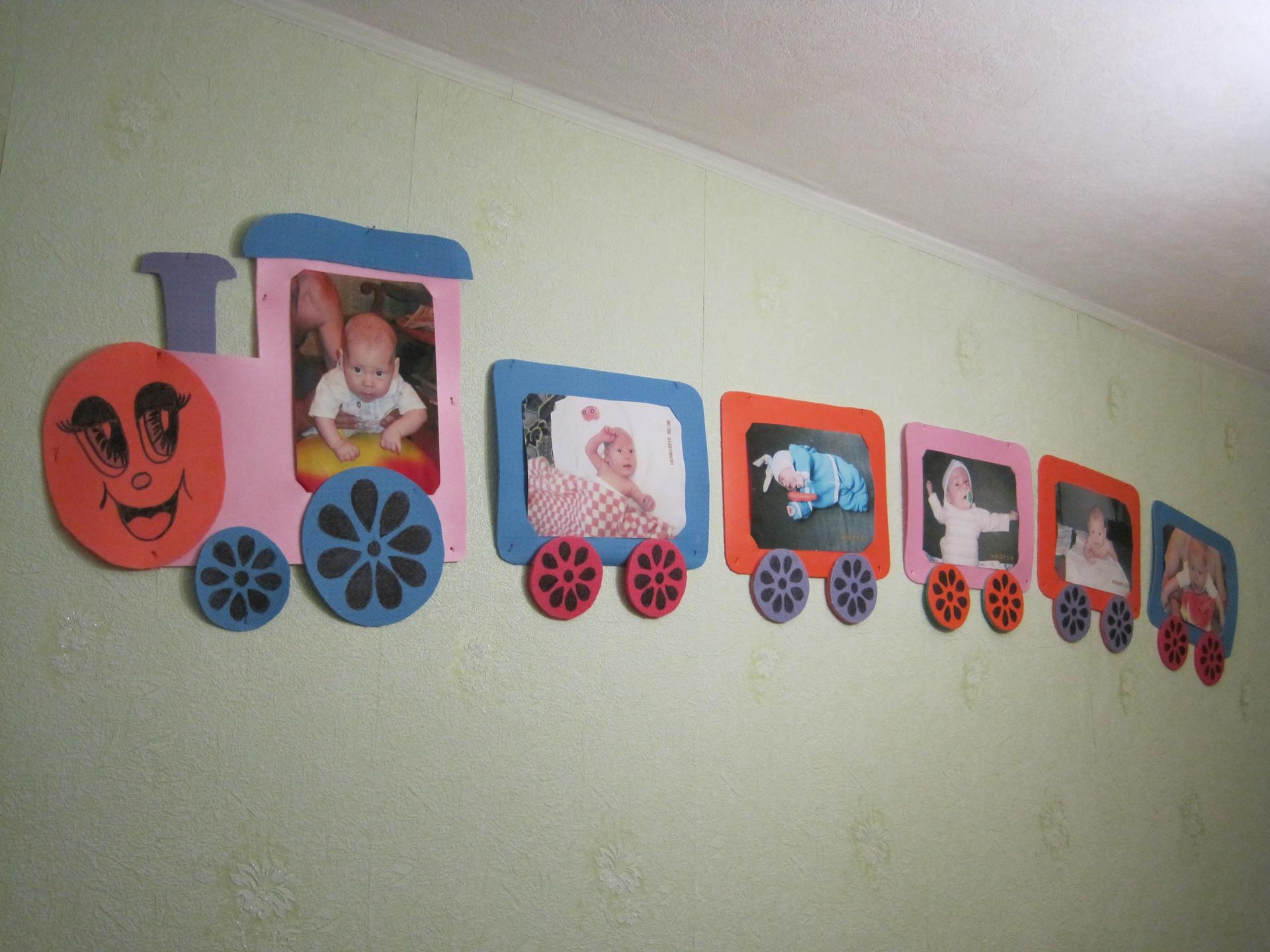 Рамки для детской фотосессии дня рождения своими руками