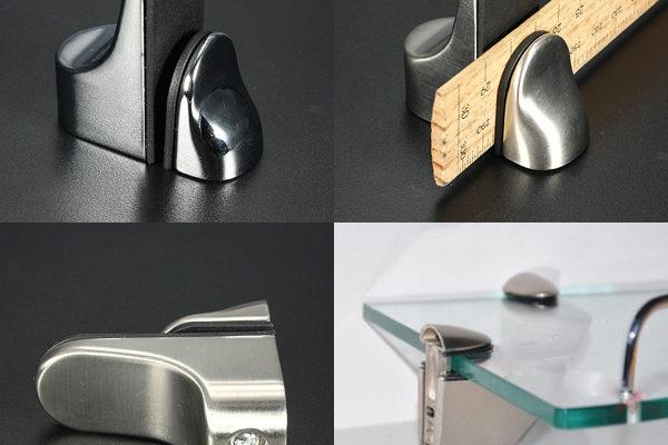 Полка-держатель кронштейн для стеклянных или деревянных изделий