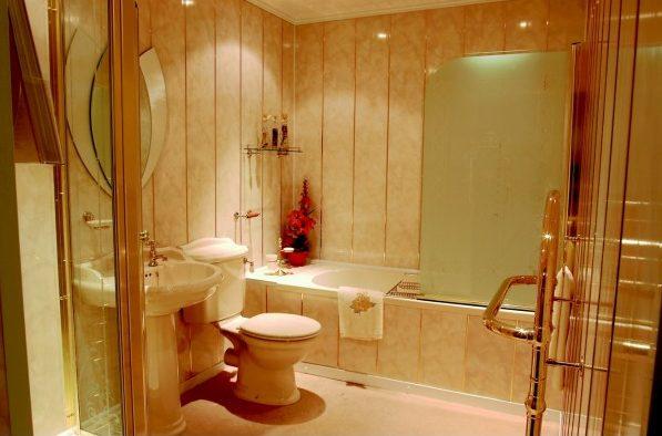 Уникальный дизайн ванной