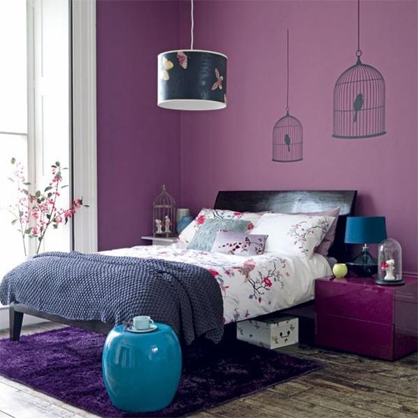 Пастельные фиолетовые расцветки