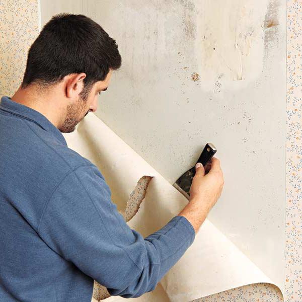 Подготовка стен к поклейке