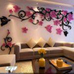 Декор стен из пенопласта