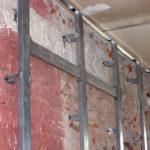 Как сделать обрешетку для стены