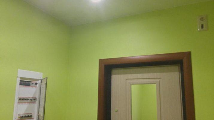 Правильно окрашенная стена