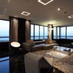 Обустройство просторной гостиной