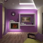 Подсветка покрытий в доме