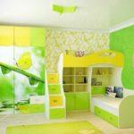 Приятный зеленый цвет дизайна