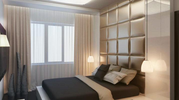 Спальня в приятных тонах