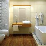 Ванная комната в современном направлении