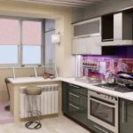 Несколько советов по оформлению небольшой кухни