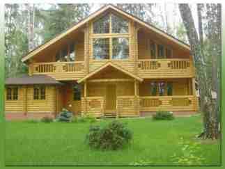 Деревянные дома, проекты