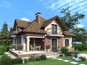 Дизайн домов и коттеджей в архитектуре