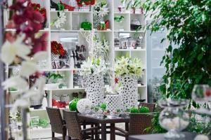 Использованию растений в современном дизайне интерьера