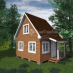 Каркасно-щитовая конструкция – быстрое решение постройки дачного дома