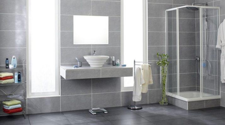 Отделка ванной комнаты кафелем