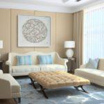 Пудровые или пастельные цвета в интерьере
