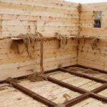 Строительство бани своими руками