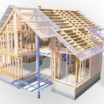 Технология строительства каркасного дома-3D каркас