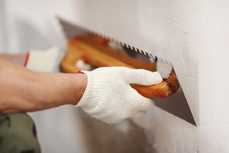 Выравнивание поверхности стен в помещениях