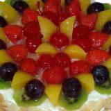 Торт с ягодами — Простая выпечка