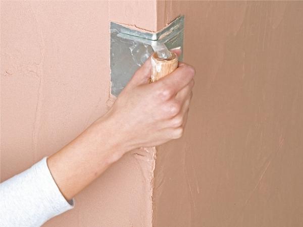 Как выровнять внутренние углы стен своими руками 80