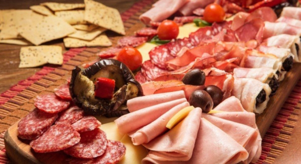 мясная нарезка на праздничный стол идеи и пошаговые рецепты