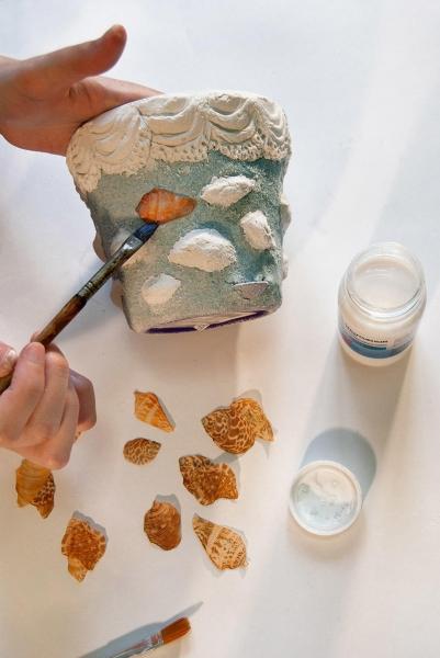 Как сделать топиарий из ватных дисков: работа в 6 шагов