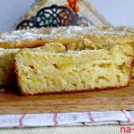 Манник на кефире с яблоками — рецепт с фото