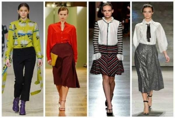 Модные блузки и рубашки осень-зима 2015-2016  фото и рекомендации 29f7fba8bf8