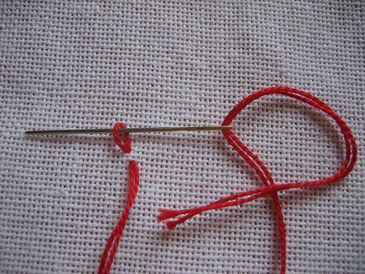 Полезные советы рукодельницам: как закрепить нить при вышивании крестом, вышивка крестиком как закрепить нить в конце