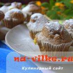Вкусные маффины с ревенем и шоколадом – рецепт с фото
