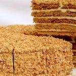 Медовый торт с заварным кремом — Заварной крем для торта медового